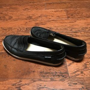 Cole Haan Loafers, Black, Size 8